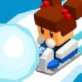 冰冻卡丁车滚雪球破解版
