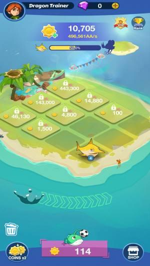魔幻鱼世界破解版图3