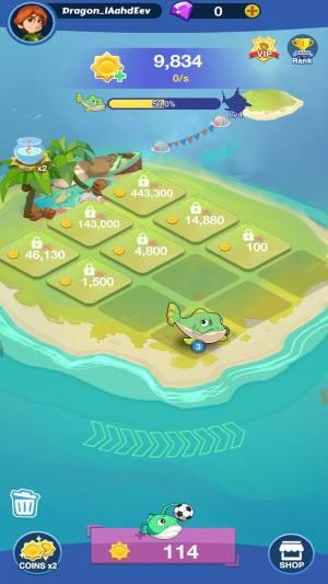 魔幻鱼世界破解版图2
