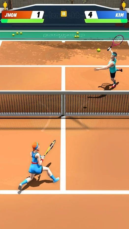 世界网球Online游戏中文手机版下载图4:
