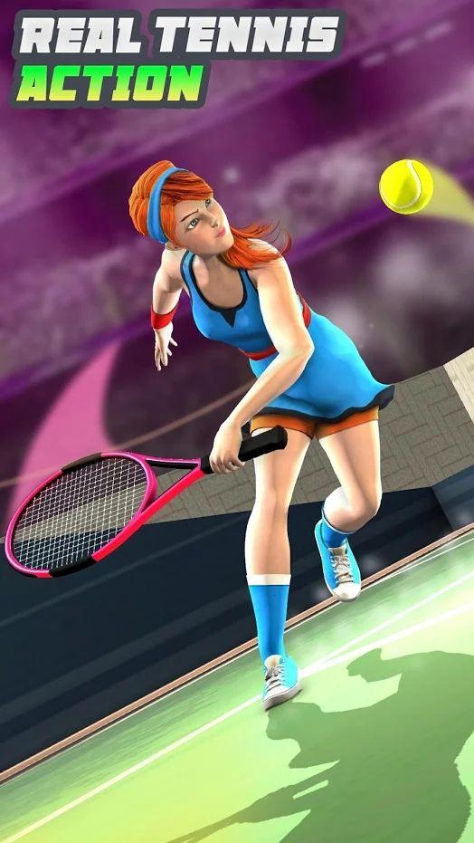 世界网球Online游戏中文手机版下载图3: