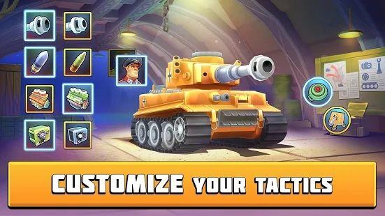 坦克战斗趣味PVP竞技游戏最新版下载图片3