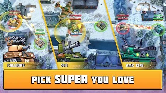 坦克战斗趣味PVP竞技游戏最新版下载图片4