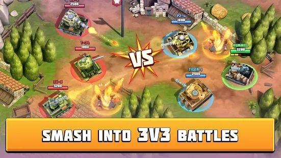 坦克战斗趣味PVP竞技游戏最新版下载图片1