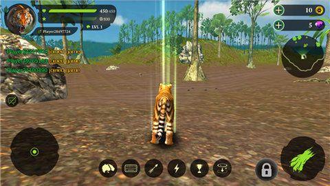 孟加拉虎模拟器游戏中文手机版下载图1:
