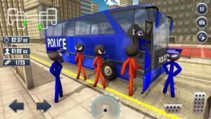 火柴人警察运输游戏图3