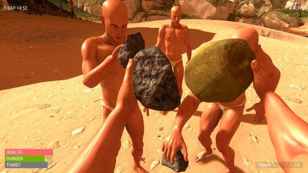 一群光头佬在荒岛上的爆笑生存之旅游戏手机版图4: