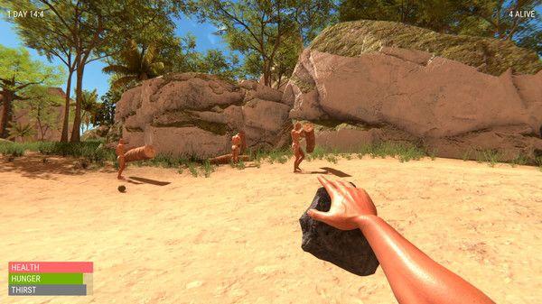 一群光头佬在荒岛上的爆笑生存之旅游戏手机版图3: