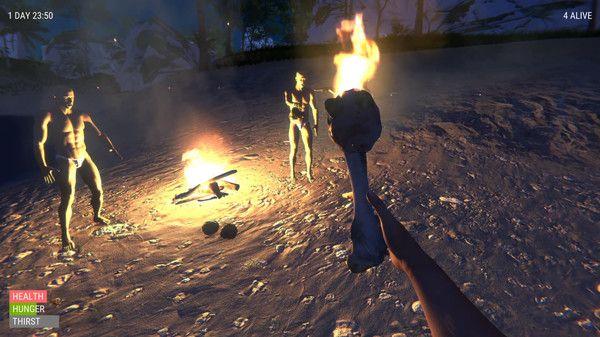 一群光头佬在荒岛上的爆笑生存之旅游戏手机版图2: