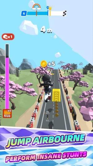 竞速摩托赛游戏图1