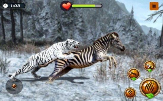 北极虎模拟器游戏安卓官方版图2: