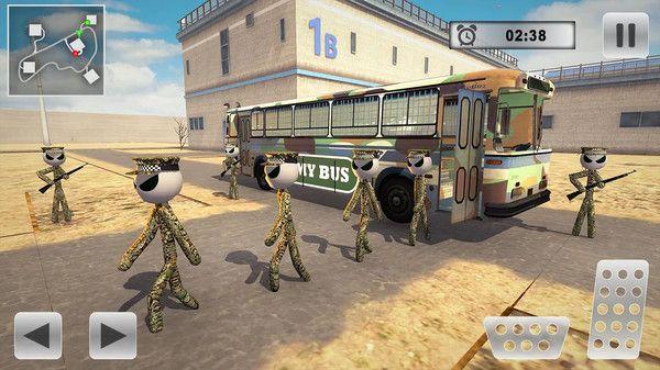 火柴人军队运输游戏中文手机版下载图片2
