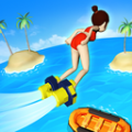 水上喷气背包游戏
