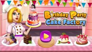 生日派对蛋糕厂游戏图1