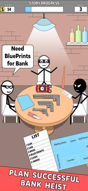 银行抢劫词语之谜游戏图2