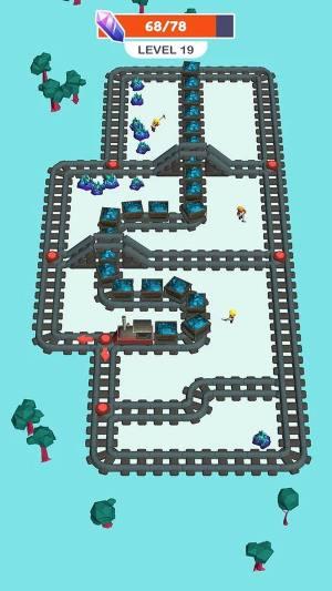 火车矿工游戏图1