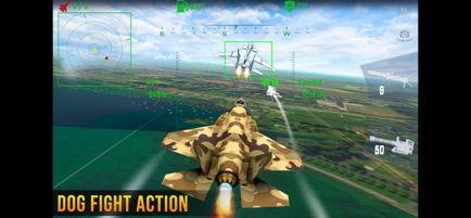 喷气式空袭任务游戏安卓中文版图1: