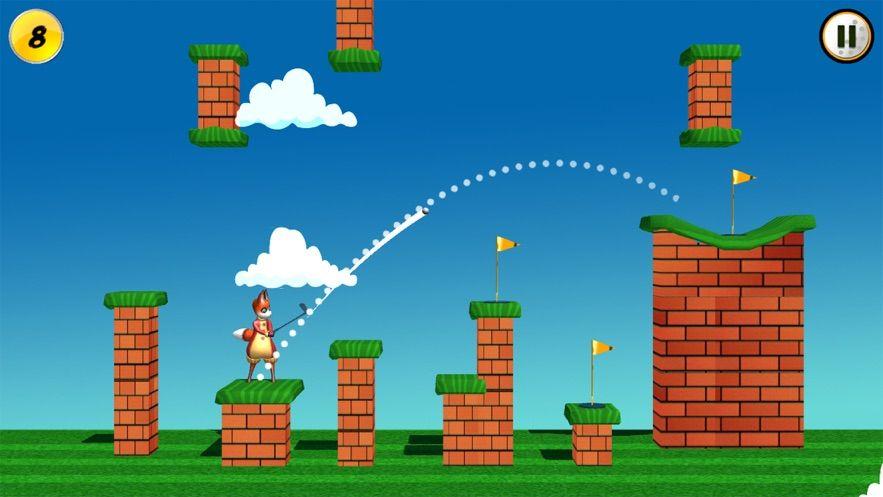 高爾夫球員瘋狂的狐貍游戲漢化破解版下載(Golfer: Crazy Fox)圖3: