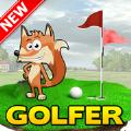 高尔夫球员疯狂的狐狸游戏汉化破解版下载(Golfer: Crazy Fox) v1.0