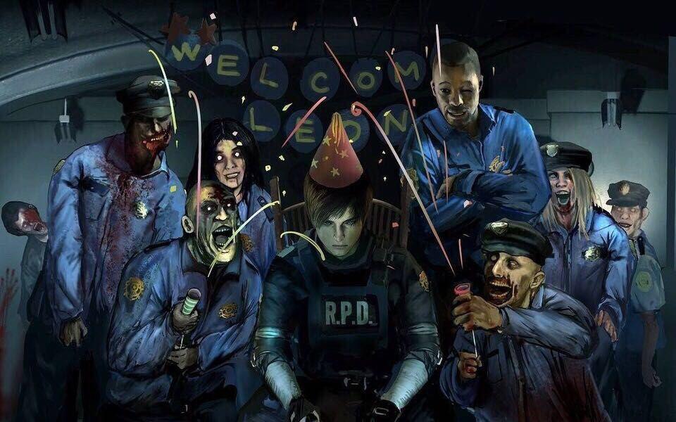 生化危机2重制版里昂表关攻略解说01:历代头最铁的僵尸[视频][多图]图片1