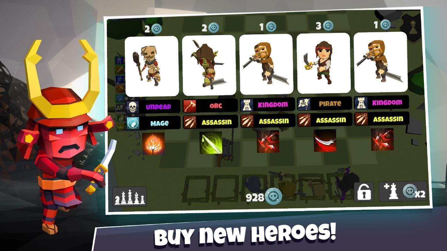 英雄自走棋游戏官方网站下载正式版(Heroes Auto Chess)图2: