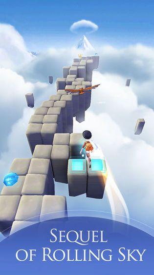 滚动的天空2幻想曲官网安卓版游戏普通下载免费版(Rolling Sky 2)图3: