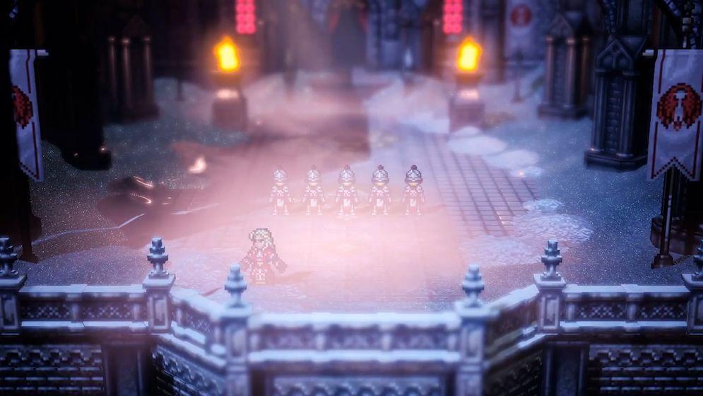 SE八方旅人大陆的霸者中文版手机游戏图1: