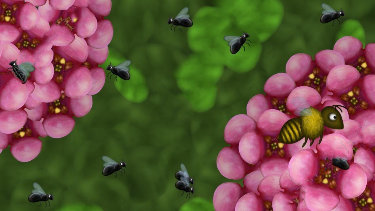 爱吃苹果的小蜜蜂2中文安卓游戏下载图4: