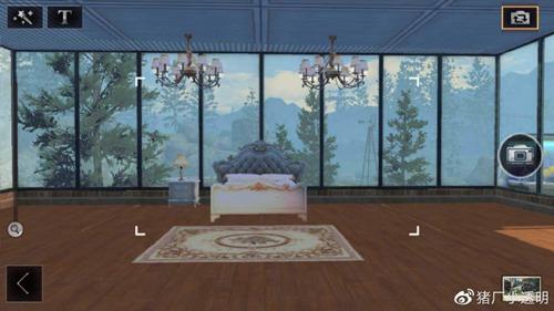 明日之后落地窗别墅设计蓝图:豪华落地窗房子平面设计图图片4