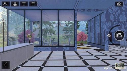 明日之后落地窗别墅设计蓝图:豪华落地窗房子平面设计图图片3