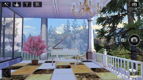 明日之后落地窗别墅设计蓝图:豪华落地窗房子平面设计图图片6