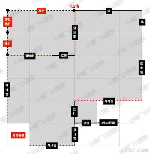 明日之后落地窗别墅设计蓝图:豪华落地窗房子平面设计图图片12