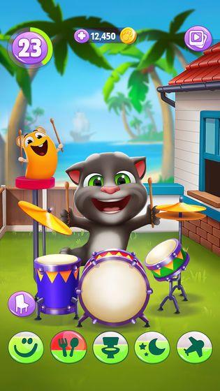 我的汤姆猫2安卓免费内购修改版下载图1:
