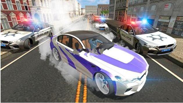 汽车模拟器M5中文游戏修改版下载(Car Simulator M5)图1: