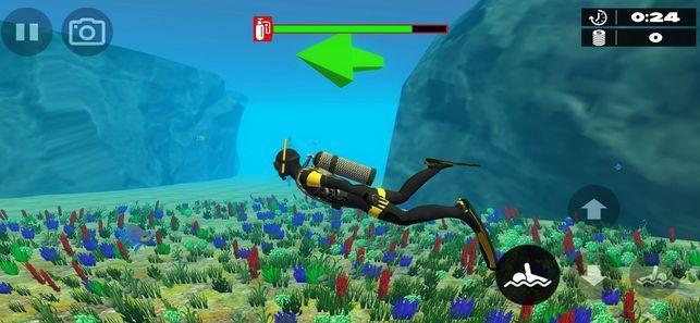 深海潜水模拟器2019手机游戏中文版下载图2: