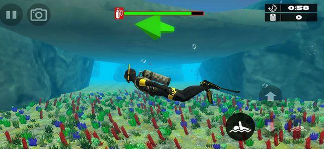 深海潜水模拟器2019手机游戏中文版下载图1: