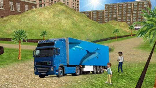 海洋动物货运车模拟器游戏最新版官方下载图4: