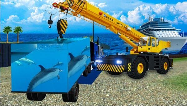 海洋动物货运车模拟器游戏最新版官方下载图1: