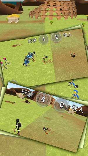 火柴人骑士战争3D游戏官方安卓中文版下载图片2