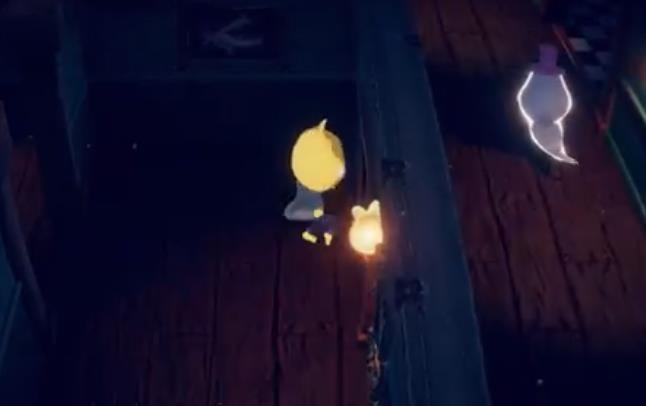 纸鱼逃离幽灵酒店游戏手机版下载图1: