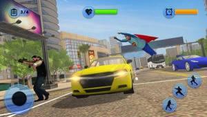 超级奶奶飞行英雄冒险游戏图3