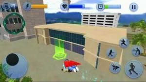 超级奶奶飞行英雄冒险游戏图1