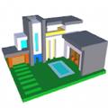 现代房屋三维图画书安卓版