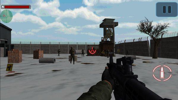 现代战场射击游戏破解版无限子弹下载图1: