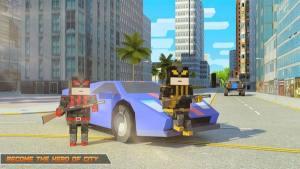 超级方块绳索英雄游戏图2