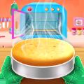 我的小蛋糕制作厨房游戏