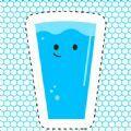 快乐的玻璃杯千杯冰游戏