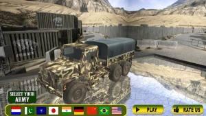 军队卡车山爬坡道驾驶破解版图3