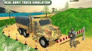 军队卡车山爬坡道驾驶破解版图1
