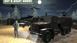 军队卡车山爬坡道驾驶破解版图2